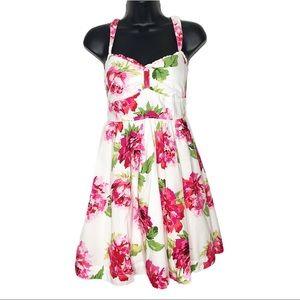 ABERCROMBIE & FITCH floral cotton sundress | L